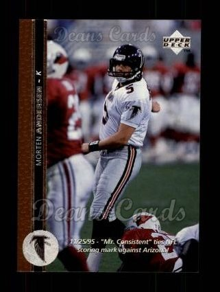 1996 Upper Deck #152  Morten Andersen