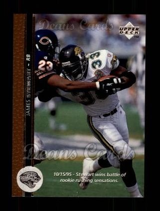 1996 Upper Deck #224  James O. Stewart