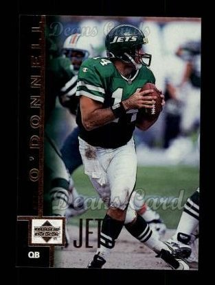 1997 Upper Deck #186  Neil O'Donnell