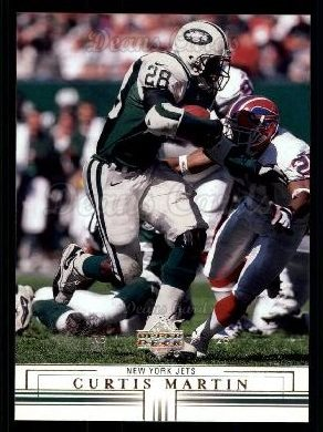 2001 Upper Deck #114  Curtis Martin