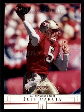 2001 Upper Deck #147  Jeff Garcia