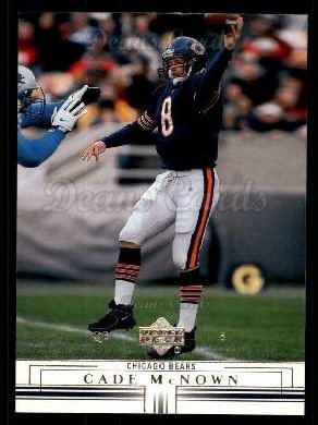 2001 Upper Deck #28  Cade McNown