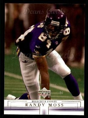 2001 Upper Deck #89  Randy Moss
