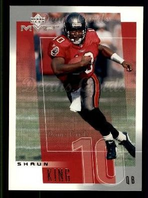 2001 Upper Deck MVP #253  Shaun King