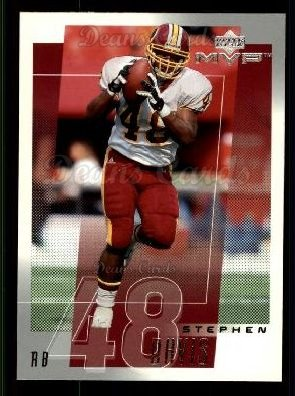 2001 Upper Deck MVP #272  Stephen Davis