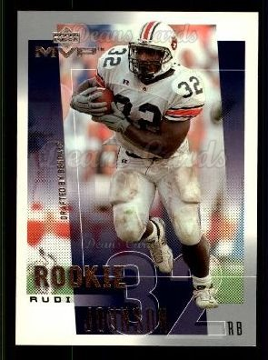 2001 Upper Deck MVP #305  Rudi Johnson