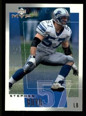 2001 Upper Deck MVP #93  Stephen Boyd