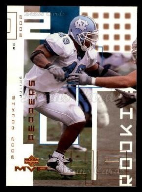 2002 Upper Deck MVP #269  Julius Peppers