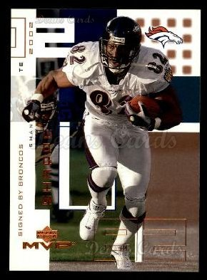 2002 Upper Deck MVP #71  Shannon Sharpe