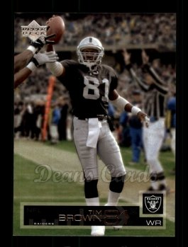 2002 Upper Deck #124  Tim Brown