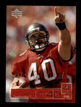 2002 Upper Deck #163  Mike Alstott