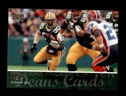2003 Upper Deck #21  Ahman Green