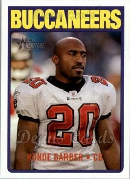 2005 Topps Heritage #101  Ronde Barber