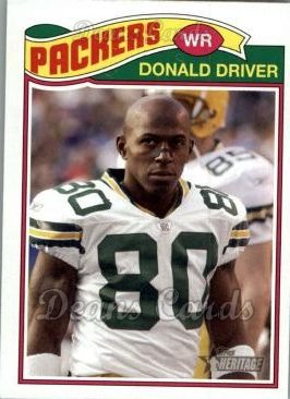 2005 Topps Heritage #117  Donald Driver
