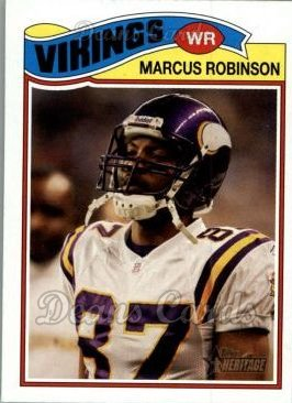 2005 Topps Heritage #84  Marcus Robinson