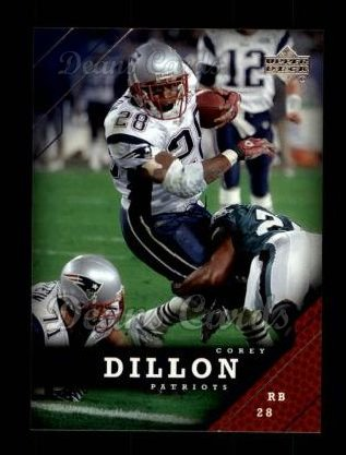 2005 Upper Deck #110  Corey Dillon