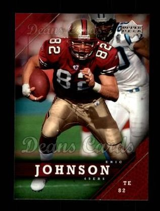 2005 Upper Deck #159  Eric Johnson