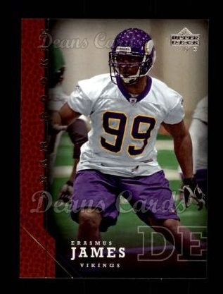 2005 Upper Deck #226  Erasmus James