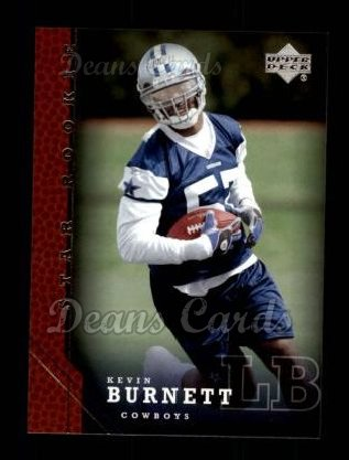 2005 Upper Deck #252  Kevin Burnett
