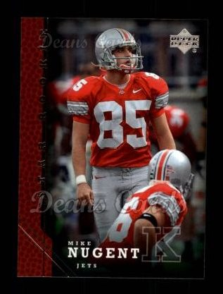 2005 Upper Deck #264  Mike Nugent