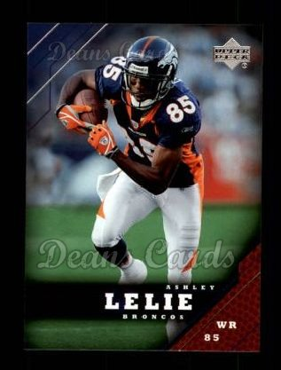 2005 Upper Deck #59  Ashley Lelie