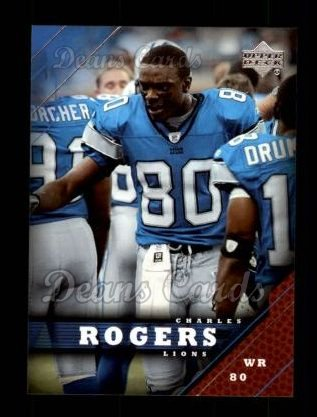 2005 Upper Deck #63  Charles Rogers