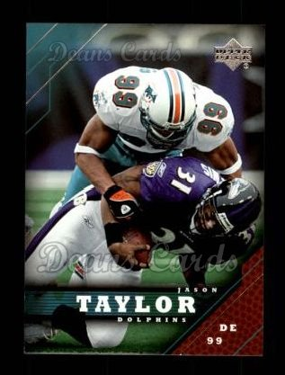 2005 Upper Deck #97  Jason Taylor
