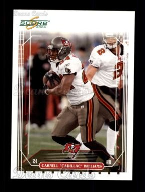 2006 Score #257  Cadillac Williams