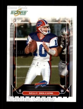 2006 Score #31  Kelly Holcomb