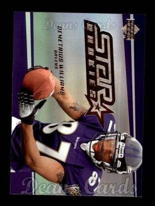 2006 Upper Deck #235  Demetrius Williams