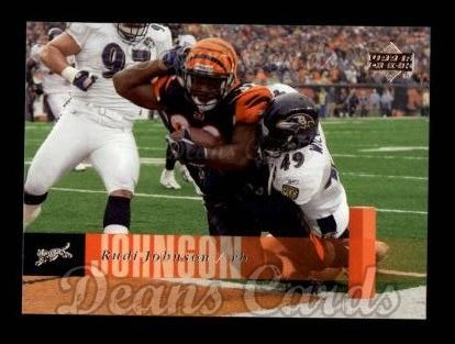 2006 Upper Deck #37  Rudi Johnson