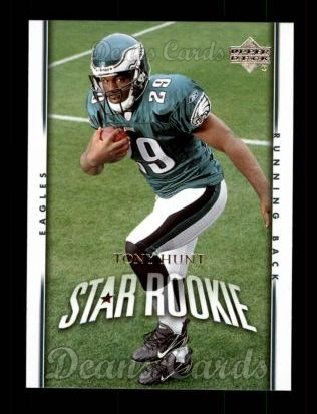 2007 Upper Deck #253  Tony Hunt