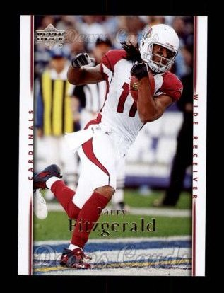 2007 Upper Deck #4  Larry Fitzgerald