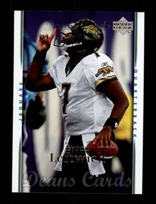 2007 Upper Deck #89  Byron Leftwich