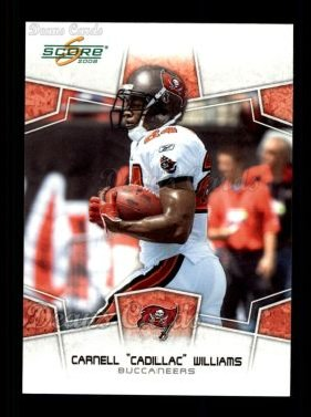 2008 Score #303  Cadillac Williams