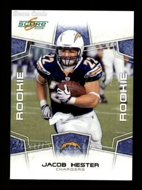2008 Score #382  Jacob Hester