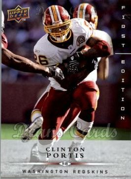 2008 Upper Deck First Edition #149  Clinton Portis