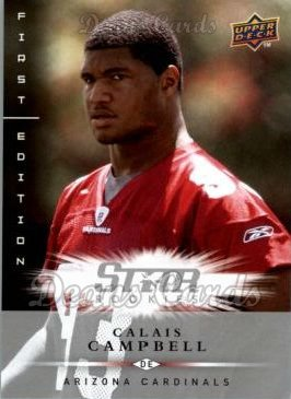 2008 Upper Deck First Edition #155  Calais Campbell