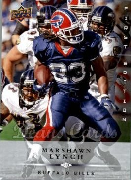 2008 Upper Deck First Edition #19  Marshawn Lynch