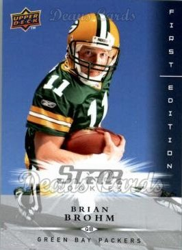 2008 Upper Deck First Edition #203  Brian Brohm