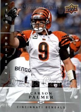 2008 Upper Deck First Edition #30  Carson Palmer