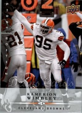 2008 Upper Deck First Edition #34  Kamerion Wimbley