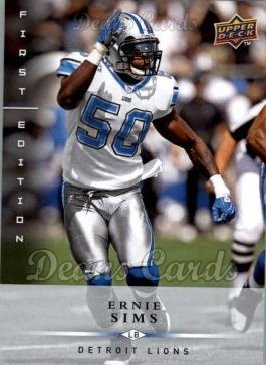 2008 Upper Deck First Edition #53  Ernie Sims