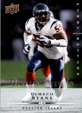 2008 Upper Deck First Edition #59  DeMeco Ryans