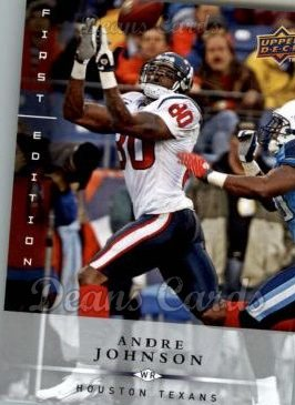 2008 Upper Deck First Edition #60  Andre Johnson