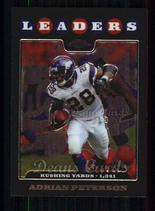 2008 Topps Chrome #125  Adrian Peterson