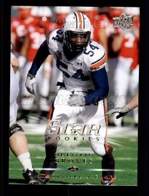 2008 Upper Deck #280  Quentin Groves