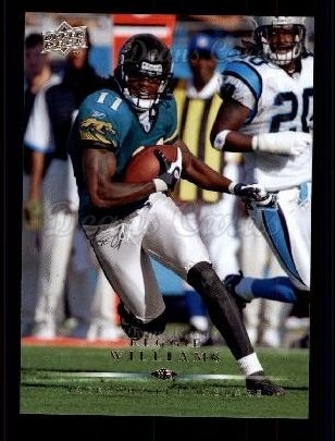 2008 Upper Deck #87  Reggie Williams
