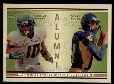 2009 Topps Magic Alumni #13 AD Steve Slaton / Pat White