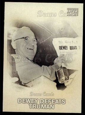 2009 Topps Magic 1948 Magic #18 M  -  Harry Truman Dewey defeats Truman
